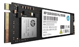 Disco Duro De Estado Solido Ssd Hp 250gb Ex900 M.2 Pcie