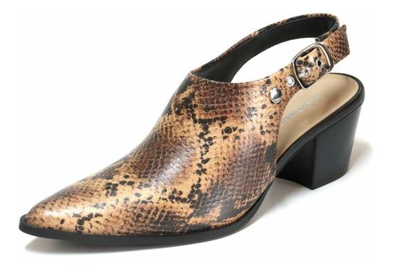 Zapatos Zuecos Mujer Hush Puppies Cuero Pulsera Hebilla Ubay