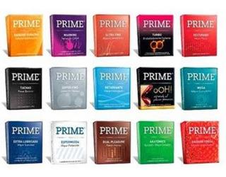 Preserv. Prime 12 Cajas X 3u (36u) Combinalos Como Quieras!