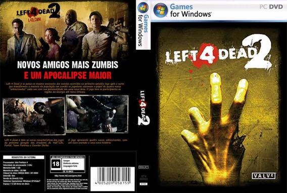 Left 4 Dead 2 Pc - Mídia Digital (envio Já)