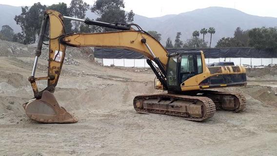 Alquilo Excavadora Cat