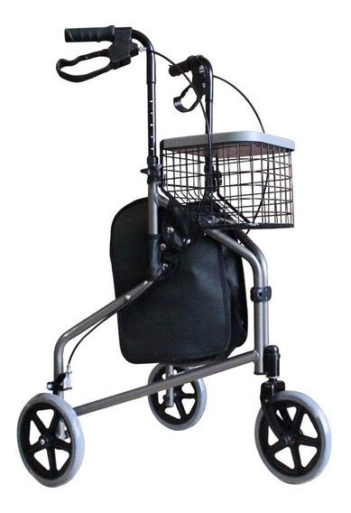 Andadera Ortopedica Rollator 3 Ruedas Adulto Msi