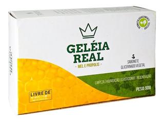 Kit 24 Sabonete Glicerinado Geléia Real Tropical Barra