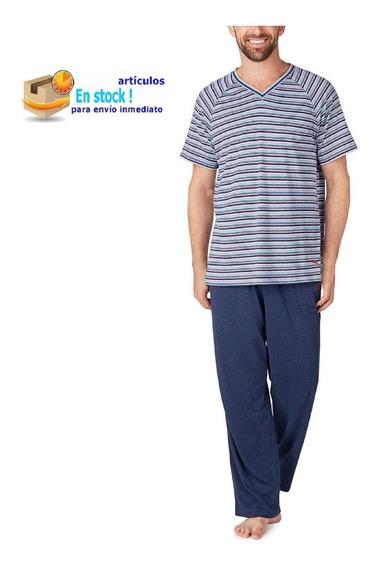 Tommy Bahama, Pijama Para Hombre (2 Piezas Talla Chica)