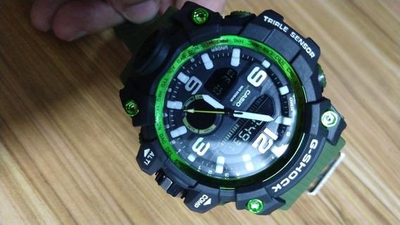 Relógio G-shock Militar Verde Branco