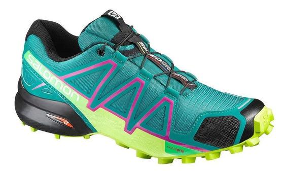 Tênis Speedcross 4 Feminino Salomon Verde