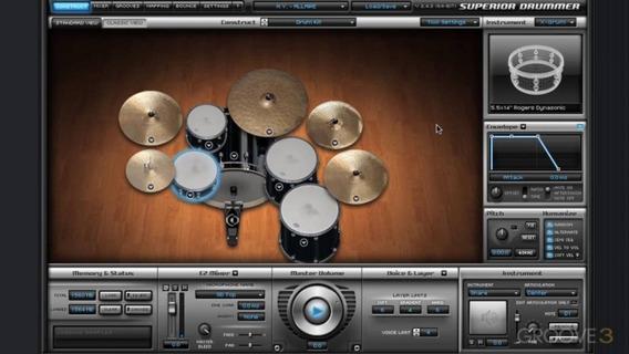 Superior Drummer + 150gb De Expansions (lista No Anuncio)