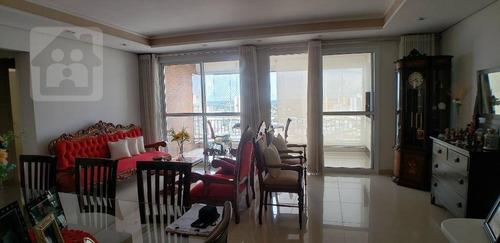 Imagem 1 de 22 de Apartamento Com 4 Dormitórios À Venda, 208 M² Por R$ 900.000,00 - Edifício Liverpool - Araçatuba/sp - Ap0389