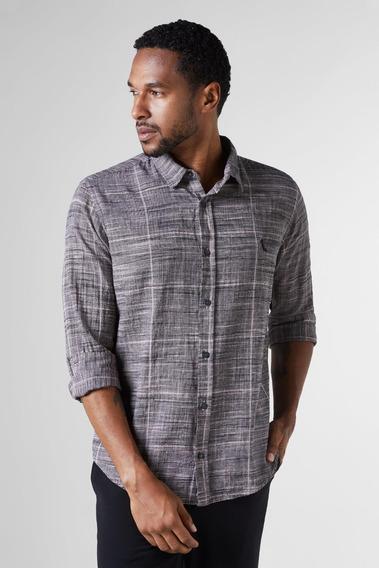 Camisa Regular Xadrez Grade Reserva