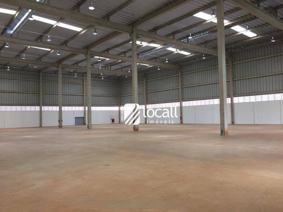 Barracão Para Alugar, 7 M² Por R$ 150.000/mês - Condomínio São João I (zona Rural) - São José Do Rio Preto/sp - Ba0056