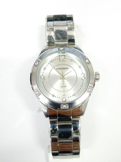 Relógio Feminino Prata Mondaine 53508l0mgns1ka Lindo Com Nfe