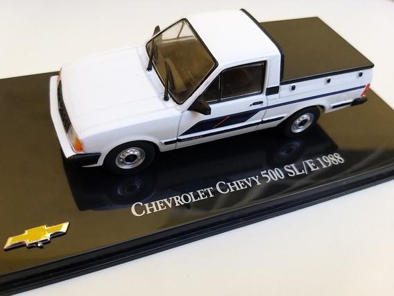 Miniatura Chevrolet Chevy 1988 1/43 Brasileiros