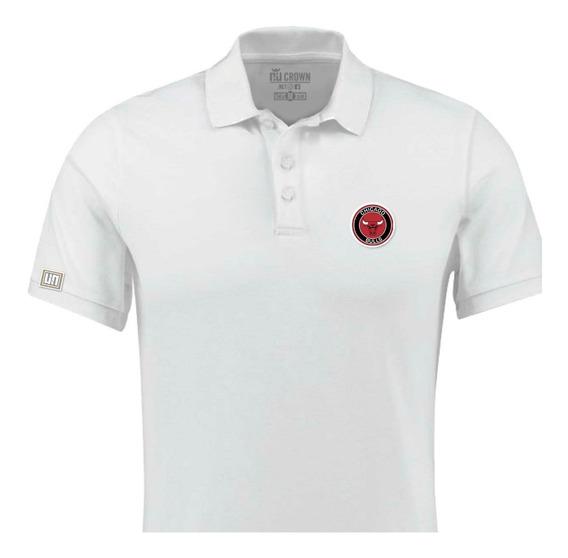 Camisetas Tipo Polo Chicago Bulls Baloncesto Nba Php