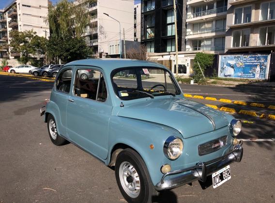 Fiat 600 1972 58.000 Km De Fabrica.