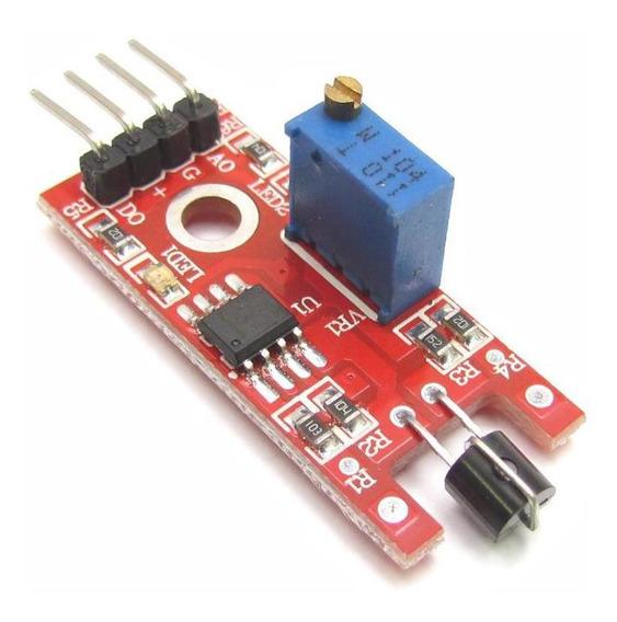 Módulo Sensor Touch Metal Para Arduíno Projetos Automação
