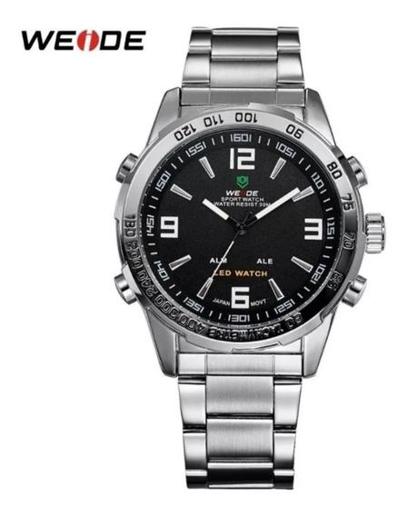 Relógio Masculino Weide Wh1009 Analógico Digital Militar