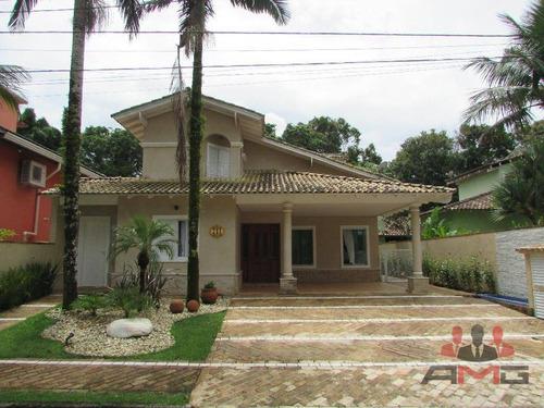 Casa Com 4 Dormitórios À Venda, 330 M² Por R$ 2.500.000,00 - Riviera - Módulo 30 - Bertioga/sp - Ca0343