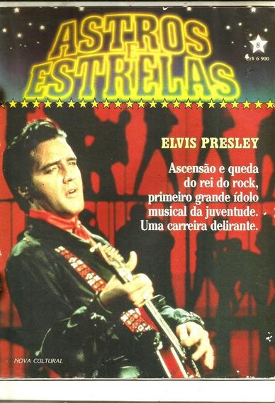 Revista Elvis Presley - Astros E Estrelas - Vol .08