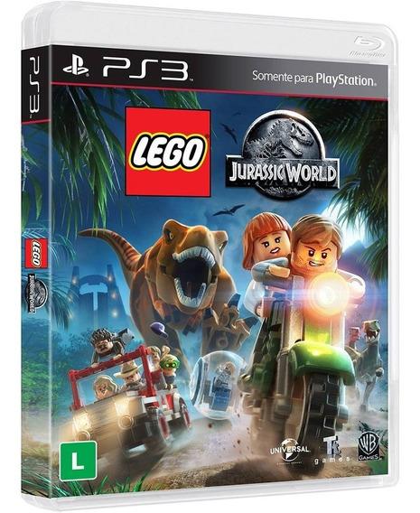 Jogo Lego Jurassic World - Ps3 - Novo - Português - Mídia Física - Lacrado
