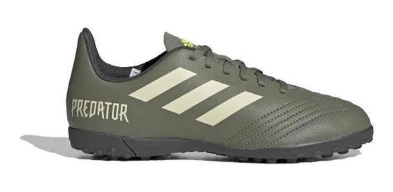 adidas Botines Kids - Predator 19.4 Tf J Verar