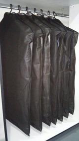 Kit Com 10 Unidades De Capas Protetora Para Ternos Com Ziper