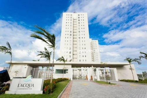 Imagem 1 de 12 de Apartamento Para Venda Em Natal, Neópolis - L`acqua Condomínio, 3 Dormitórios, 1 Suíte, 3 Banheiros, 2 Vagas - Ap0968-la_2-842719