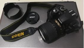 Câmera Nikon D3100 Lente 18 105 + Bolsa + Cartão + Carregado