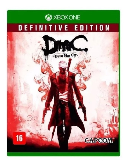Jogo Dmc Devil May Cry Definitive Edition Xbox One Fisica
