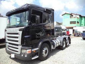 Scania G 380 2009/2010 Truck Motor Novo Com Notas Fiscais