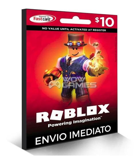 Cartão Roblox 800 Robux - Crédito De 800 Robux Digital