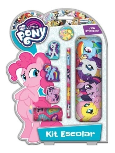 Kit Escolar Set Arte Infantil My Little Pony Pequeño Pony