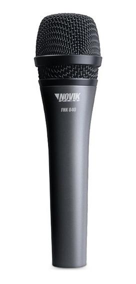 Microfone Profissional Dinâmico Novik Neo Fnk 840