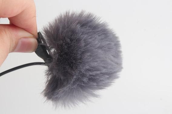 Protetor Pvd Anti-ruído De Vento Deadcat | Microfone Lapela
