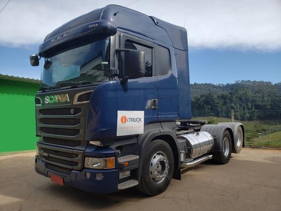 Scania R440 Highline 6x2 Ano 2014 Motor Novo E Retarder = Mb