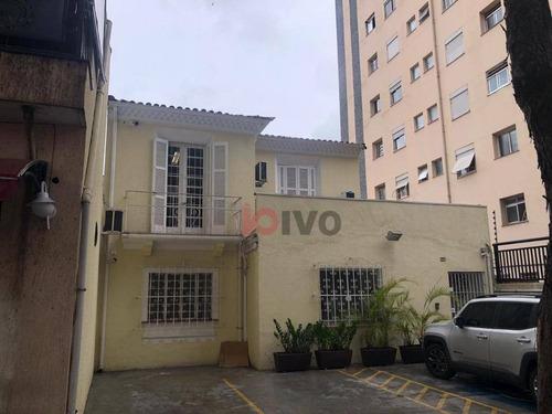 Sobrado  250 M² Úteis  R$ 12.000 Vila Clementino- Sp - So0657