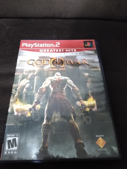 Game God Of War 2 Two Disc Set Original Impecável Ps2