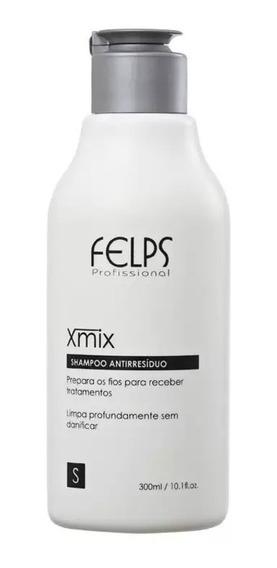 Felps Profissional Xmix - Shampoo Antirresíduo 300ml