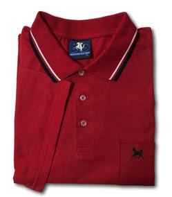 Kit 5 Camisas Polo Masculina Algodão Plus Size Gg A G7