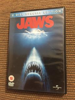 Jaws Tiburón Edición 2 Discos Steven Spielberg Dvd Pal 2 4 5