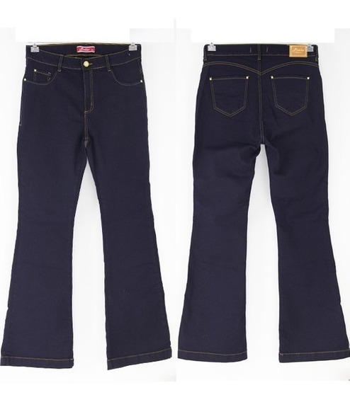 Calça Jeans Plus Size Flare Feminina