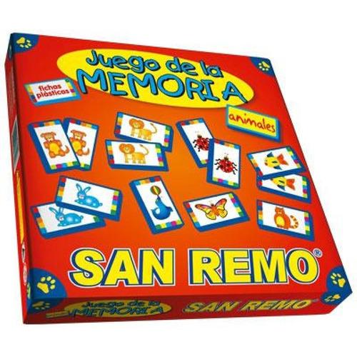 Juego De La Memoria San Remo