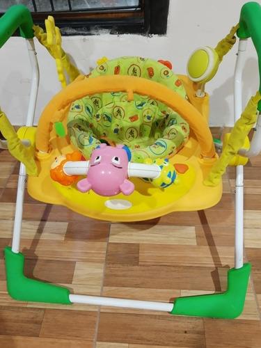 Jumper Saltarin Musical Luz Sonido Jueguete Bebé Infantil