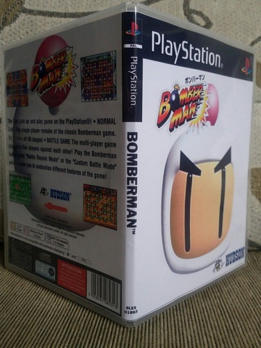 Bomberman Para Playstation 1 - Patch