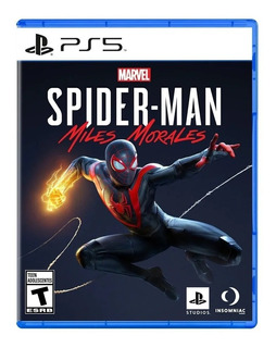 Spiderman Miles Morales Ps5 Juego Fisico Sellado Sevengamer