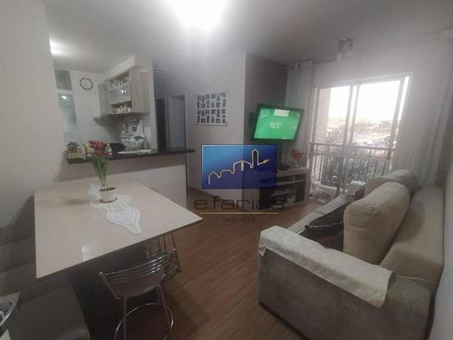Apartamento Com 2 Dormitórios À Venda, 50 M² Por R$ 265.000,00 - Vila Aricanduva - São Paulo/sp - Ap0936