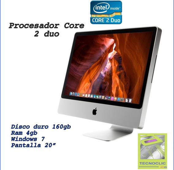 iMac Core2duo 9.1 Aluminio