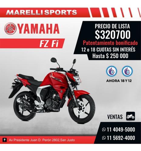 Yamaha Fz Fi Marelli Sports 12 18 Sin Interés, Pat Gratis