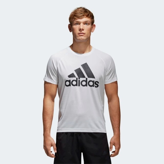 Playera adidas D2m Logo 100% Original