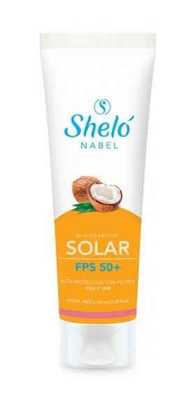 Bloqueador Solar Con Aceite De Coco Shelo /sa