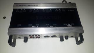 Placa De Audio Externa Traktor Audio 10 Mk2